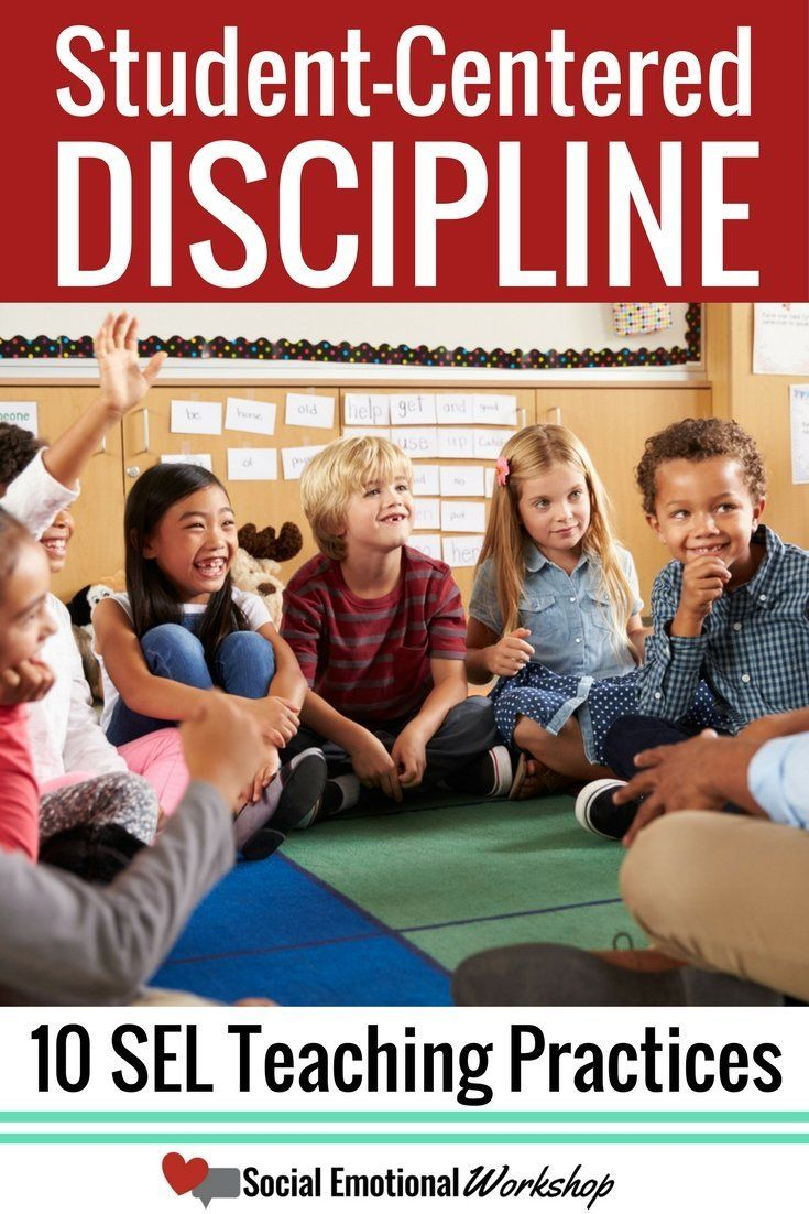 pin student centered discipline students on rug
