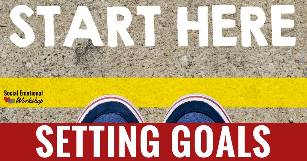 starting line setting goals