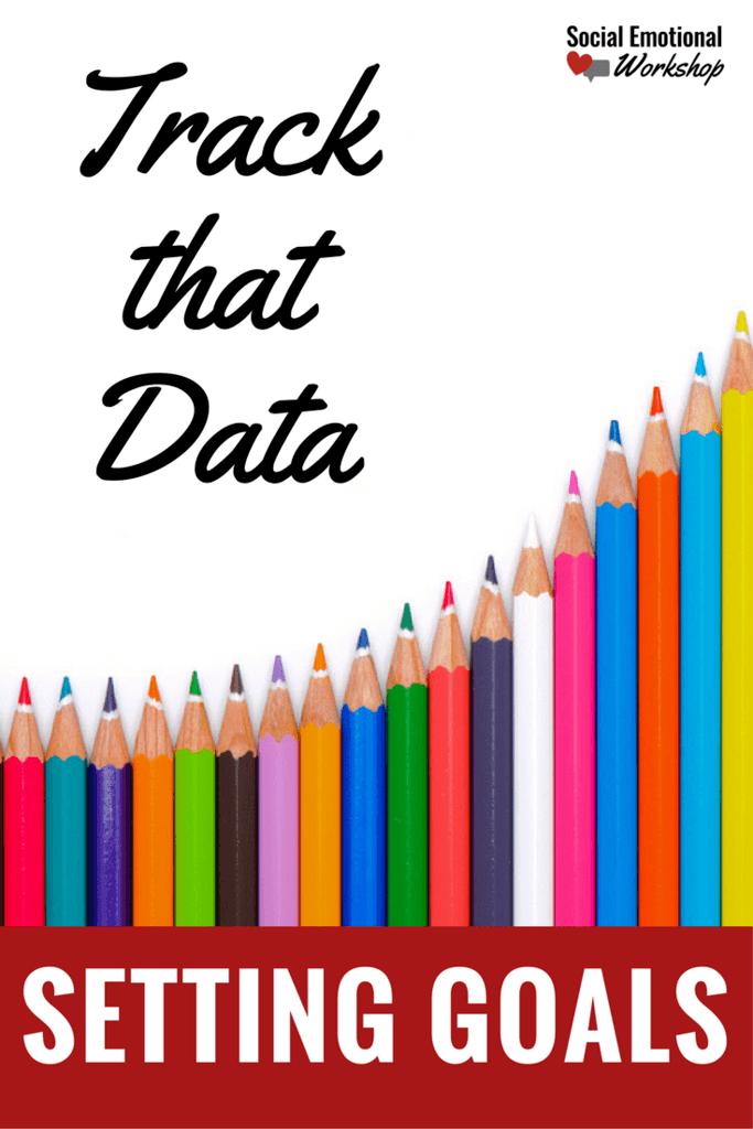 pin setting goals colorful pencils