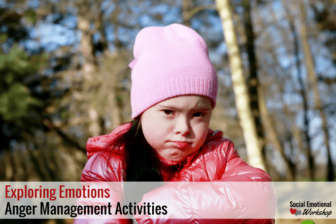 Angry Girl Image Anger Management Activities