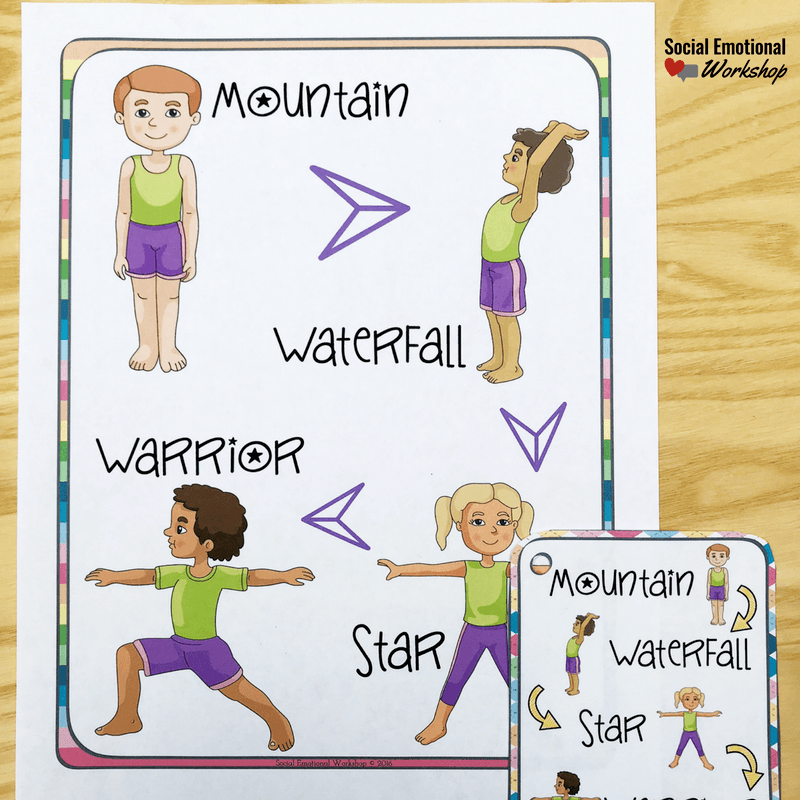 yoga cards for schools