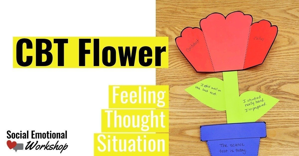 using cognitive behavioral therapy with kids requires hands on engaging activities that explain thoughts and feelings.
