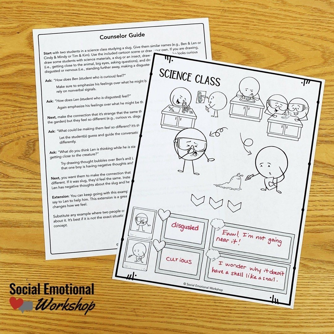 CBT for kids using simple CBT worksheets and activities