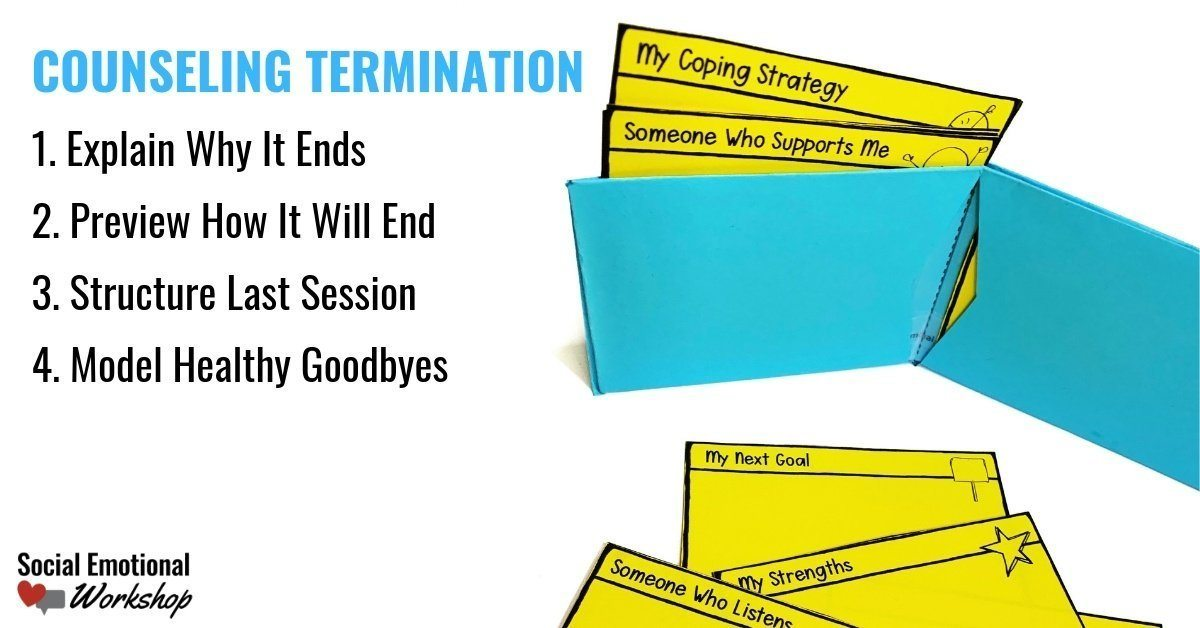 4 elements of counseling termination