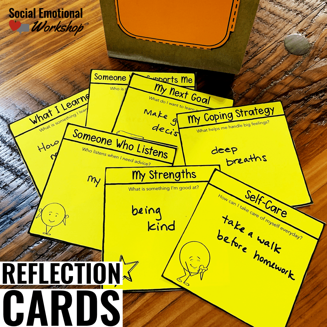 Reflection Cards for Counseling Termination